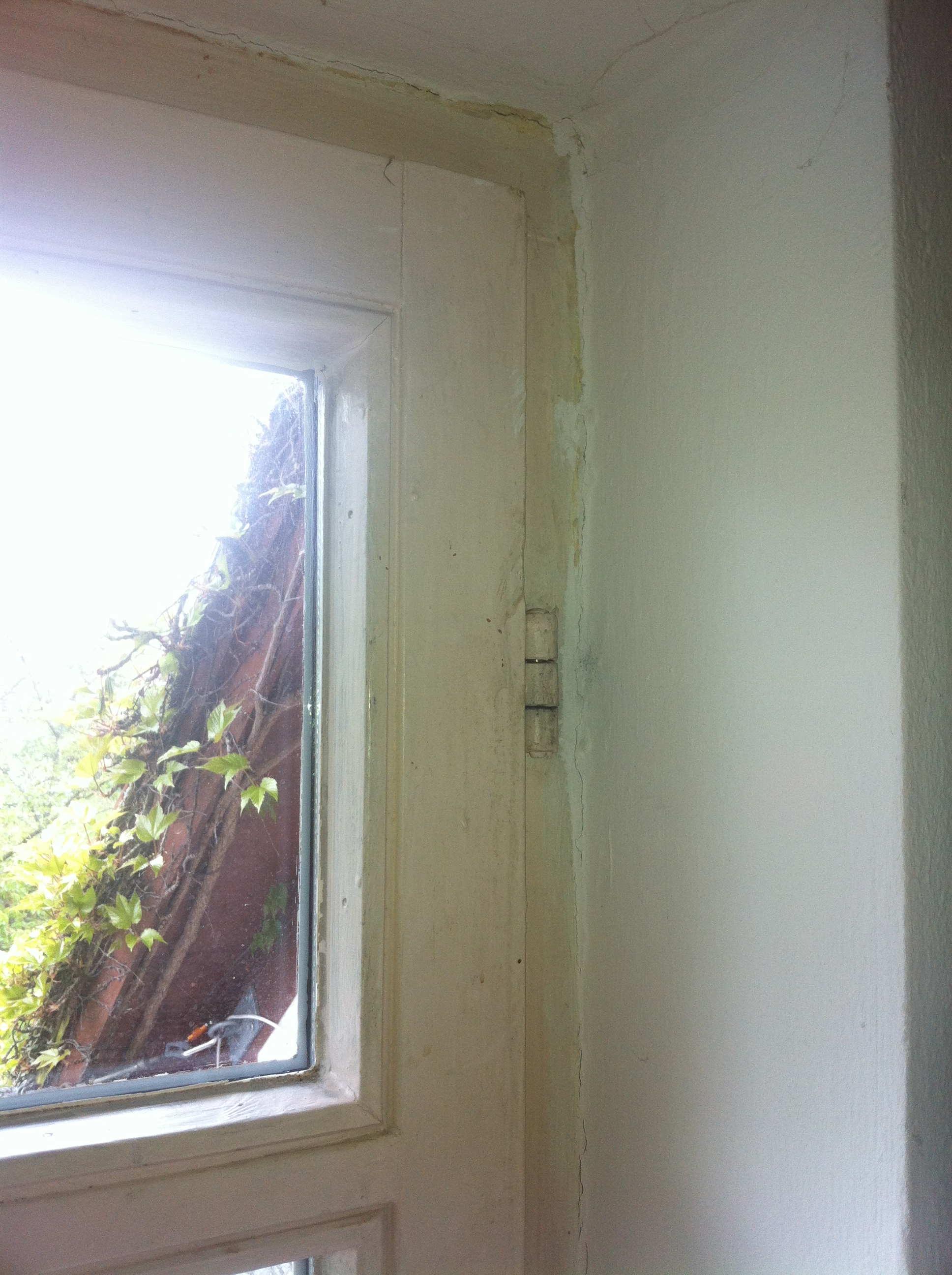 balkontür hat sich gesetzt - wie entferne ich die scharnierbolzen